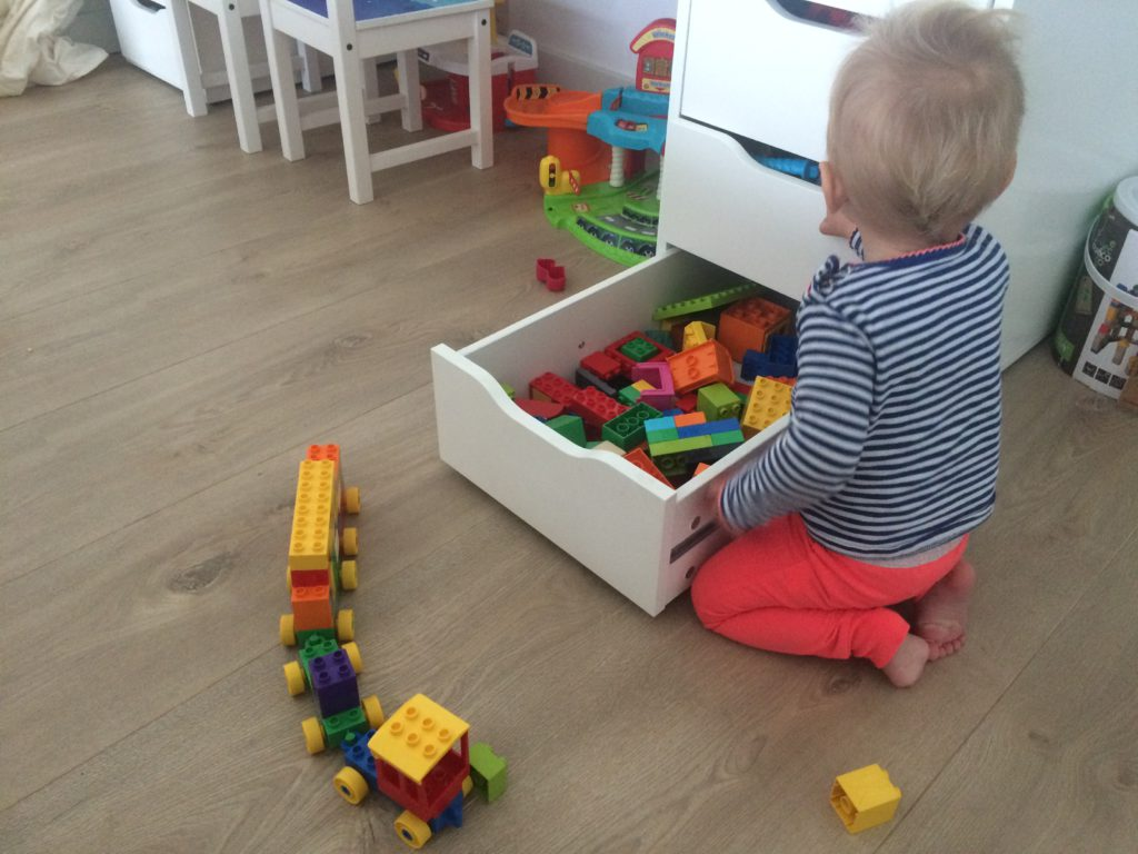 What's on mama's mind duplo getallentrein