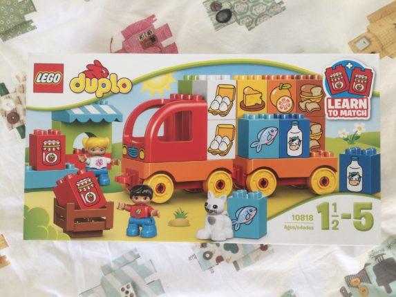 duplo de supermarkt vrachtwagen