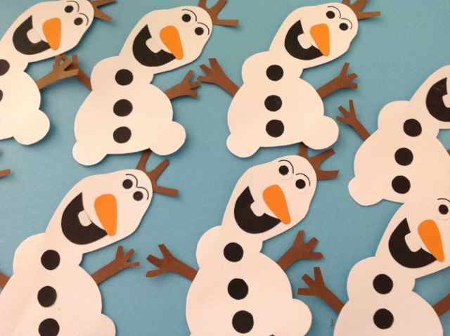 What's on mama's mind - Olaf Frozen Hippe Traktaties