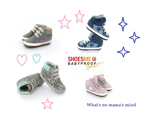 What's on mama's mind - Babyproof Smart Shoesme