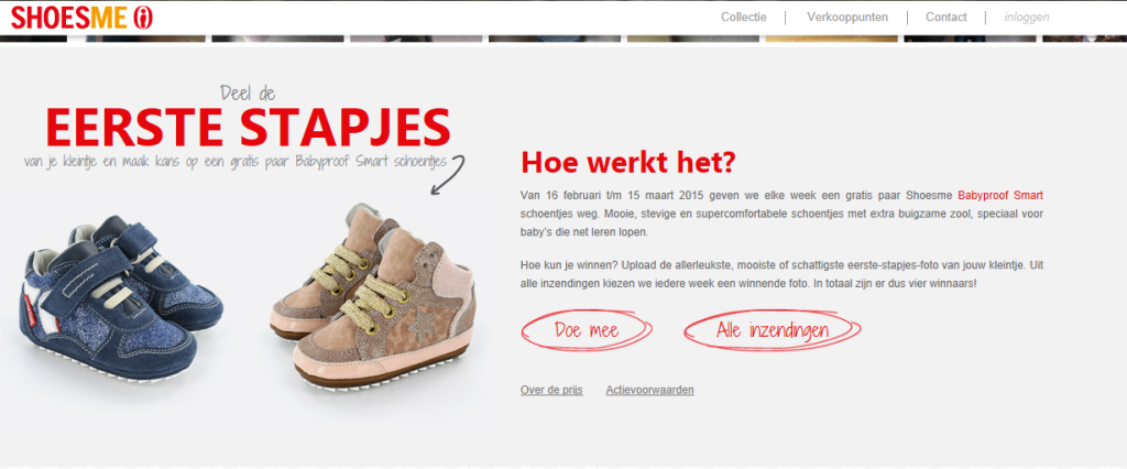 What's on mama's mind - actie shoesme