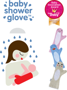 What's on mama's mind - Baby Shower Glove Flyer