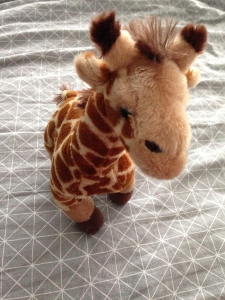 pluche knuffel giraf