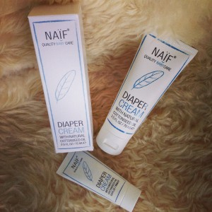 What's on mama's mind - Naif diaper cream