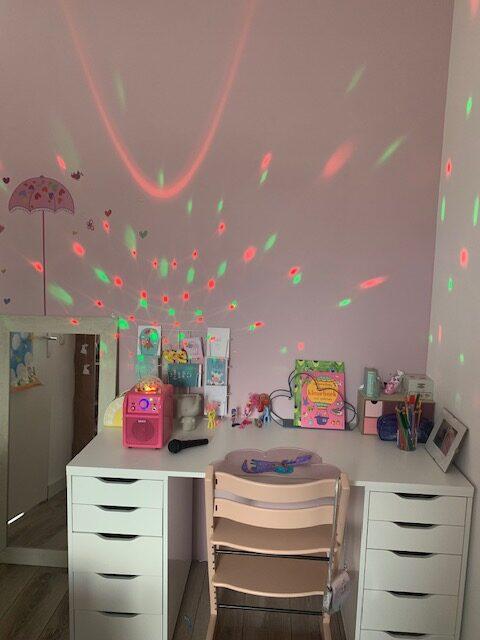 meisjes kamer muurverf roze baby's only