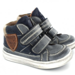 What's on mama's mind wintercollectie 2015 klittenband blauw Shoesme
