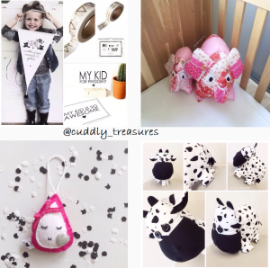 What's on mama's mind cuddly treasures