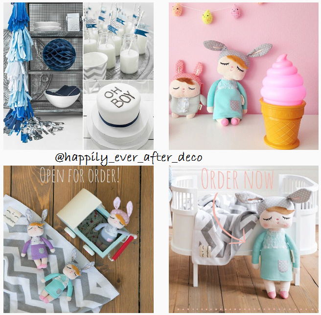 What's on mama's mind - Instagram happily ever after deco2