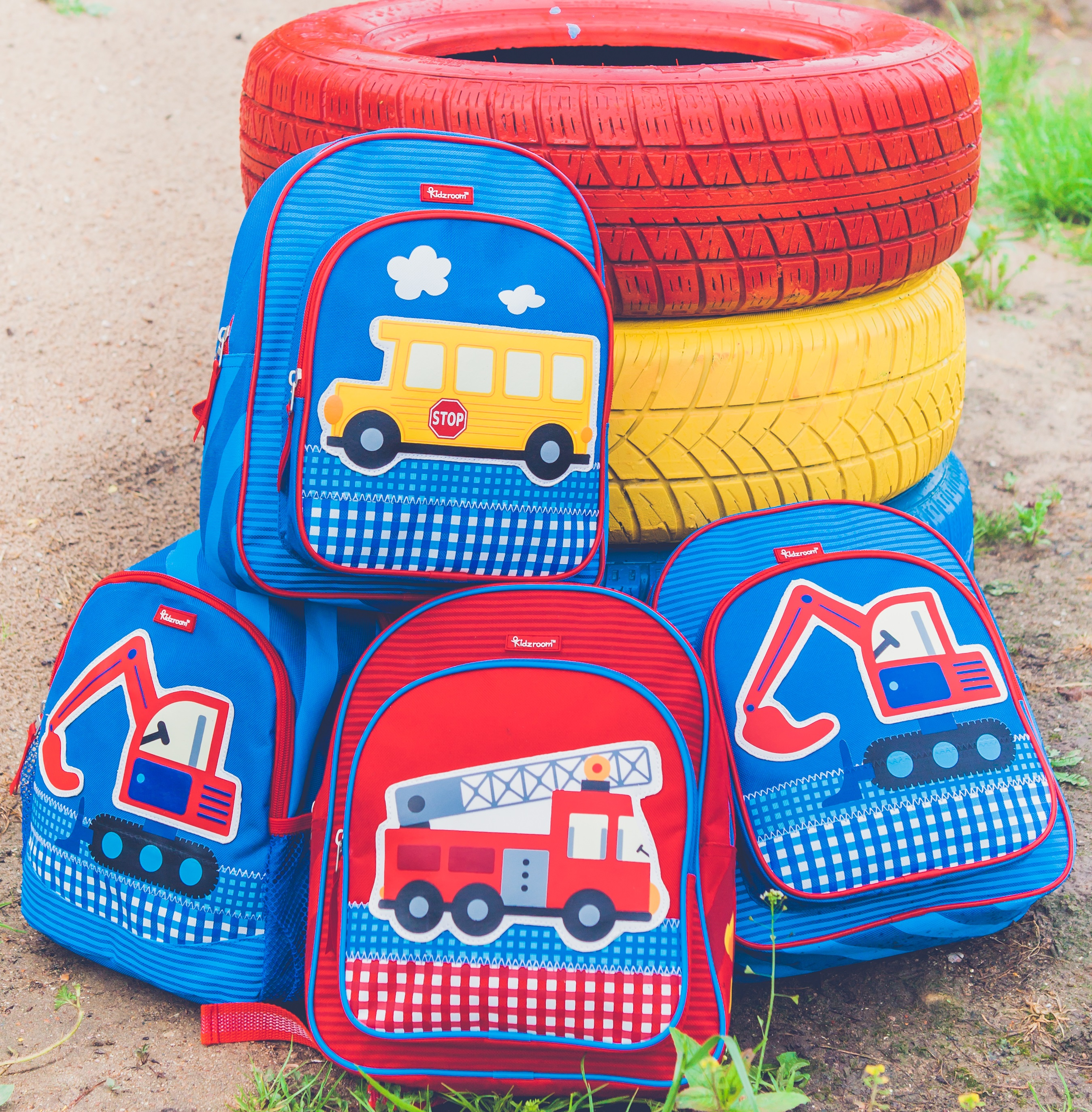 """b02e9396aea ... rugzakje uit de """"Fire fighter What's on mama's mind Kidzroom fire  fighter collectie"""