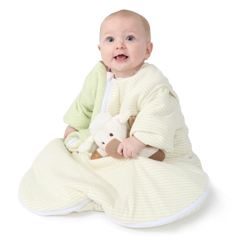 What's on mama's mind babyslaapzak-winter-purflo-groen