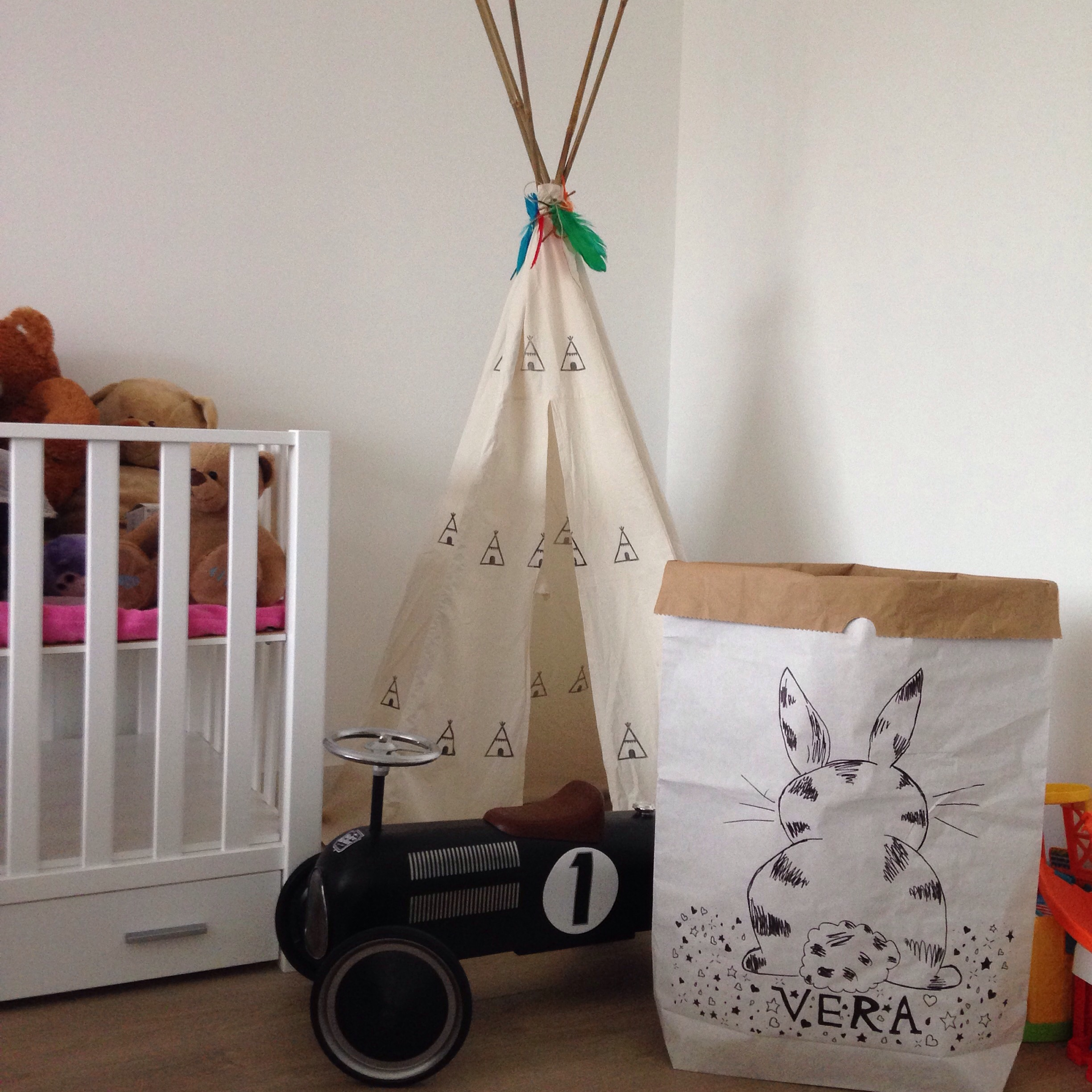 What's on mama's mind craft bag