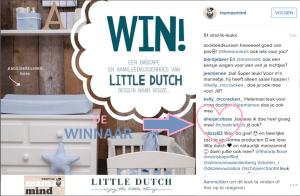 Uitslag winactie  Little Dutch januari 2016