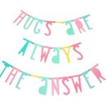alittlelovelycompany pastel letterbanner