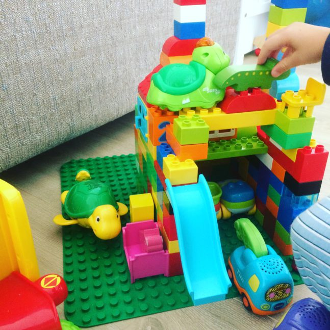 What's on mama's mind getallentrein duplo