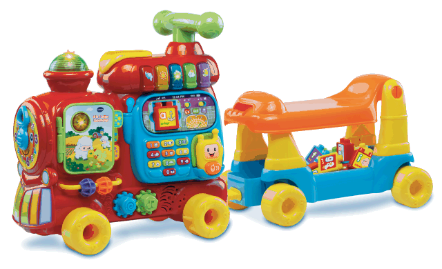 What's on mama's mind vtech trein