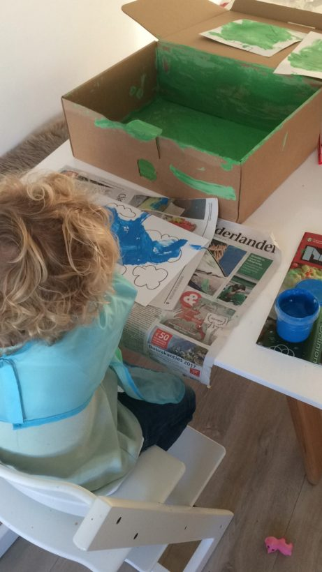 What's on mama's mind knippen met peuter