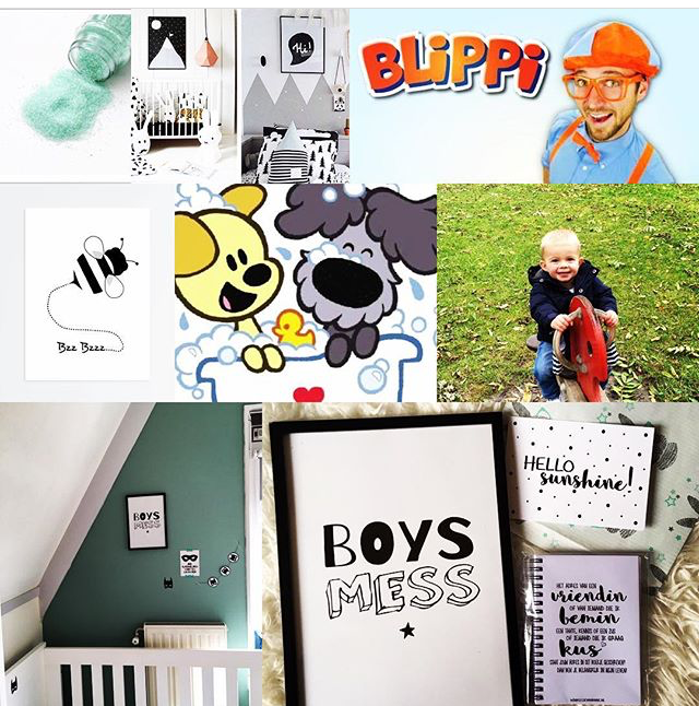 What's on mama's mind moodboard babyswap
