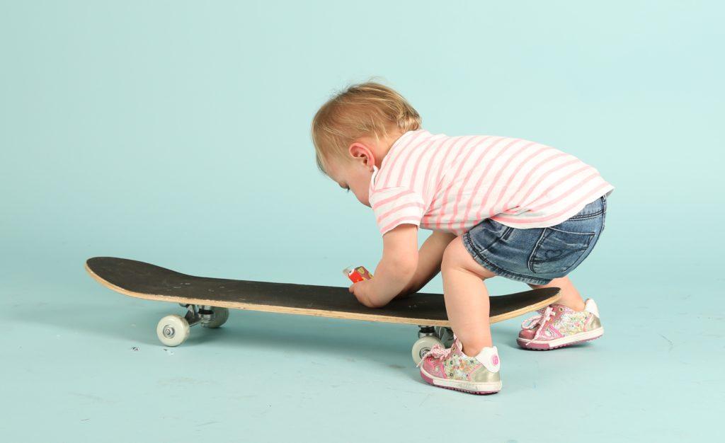 shoesme schoenen met skateboard