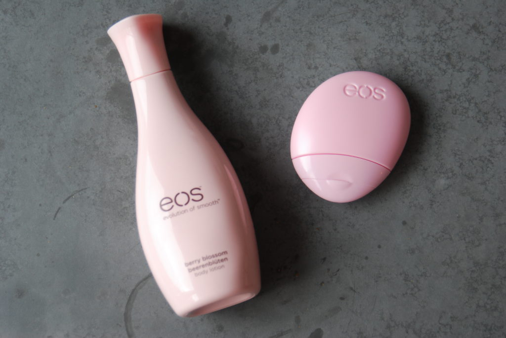 EOS bodylotion en handcreme