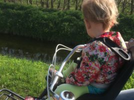 What's on mama's mind fietsstoeltje bobike