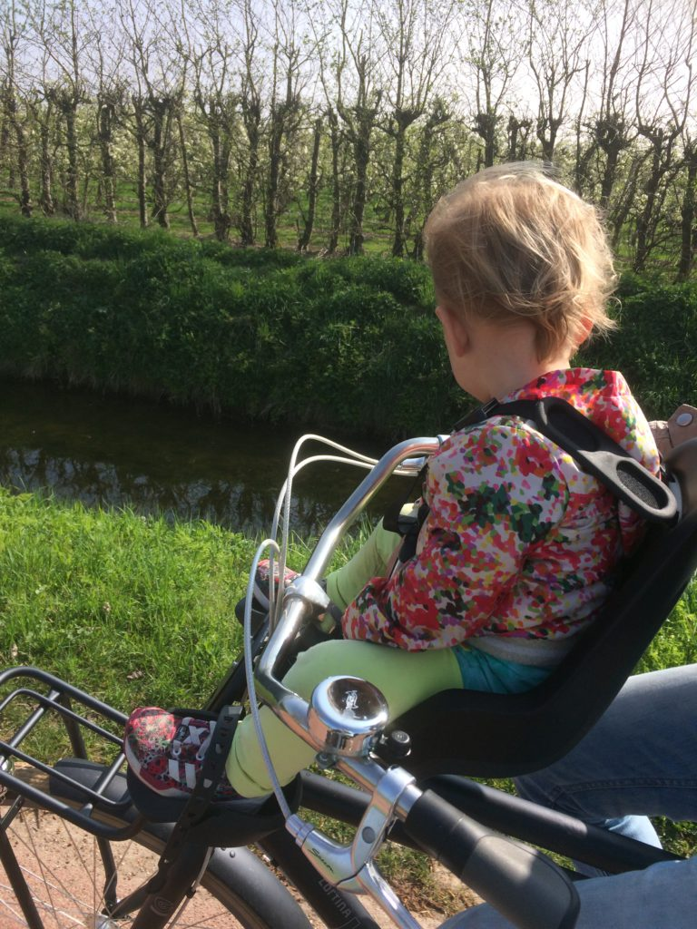 What's on mama's mind fietsstoeltje bobike