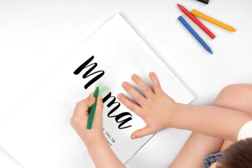 Snip Snap uitleg handletterkaarten