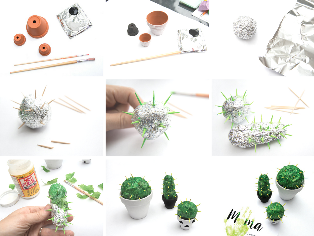 SnipSnap cactus moederdag DIY