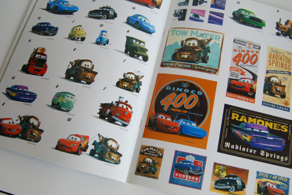 Cars stickerboek kwebbels