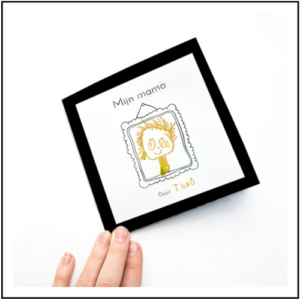 Snip Snap Papier moederdagboekje uitleg