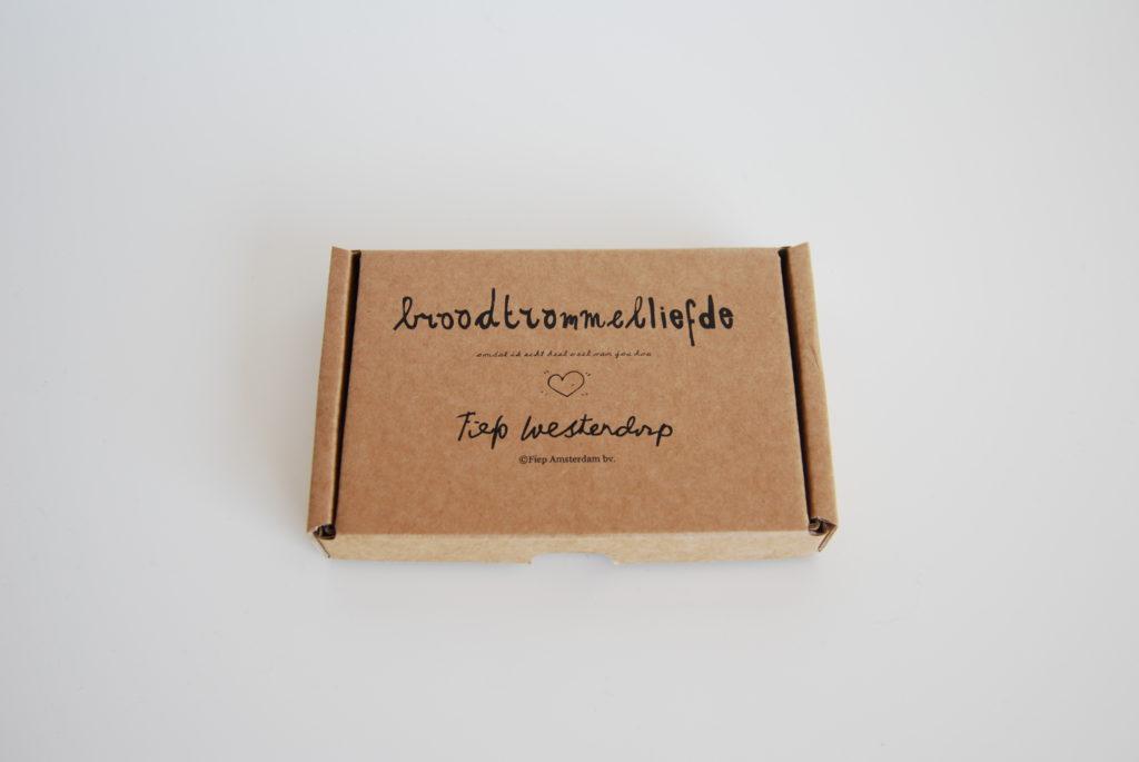 Broodtrommelkaartjes broodtrommelliefde doosje