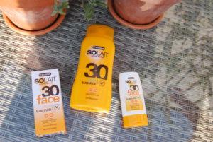 Zonnebrandcreme solait factor 30