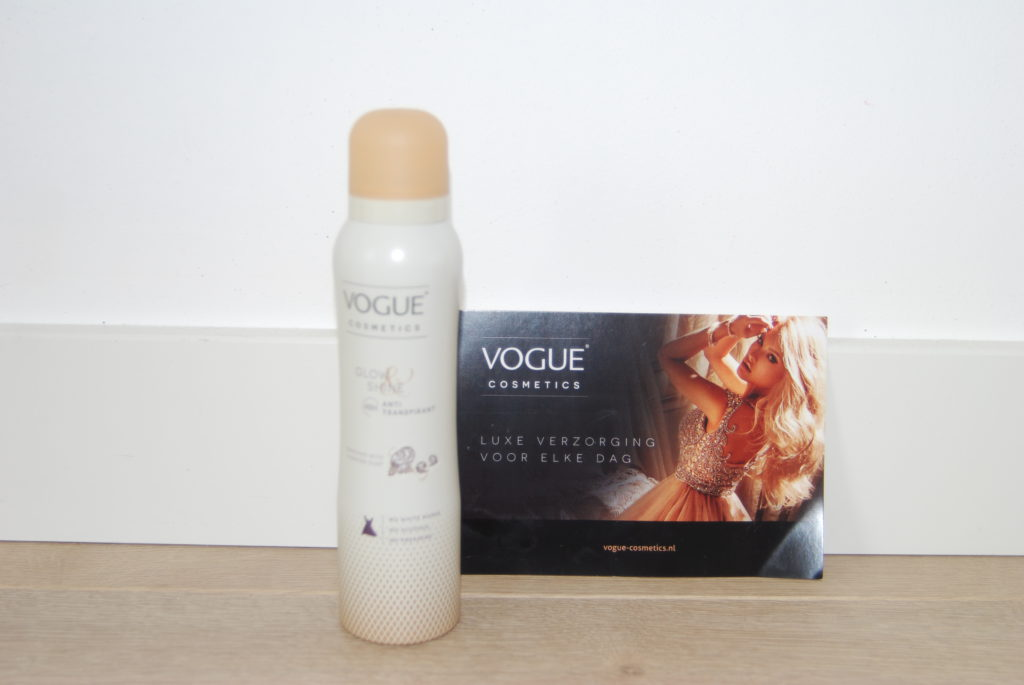 Vogue review glow & shine deo