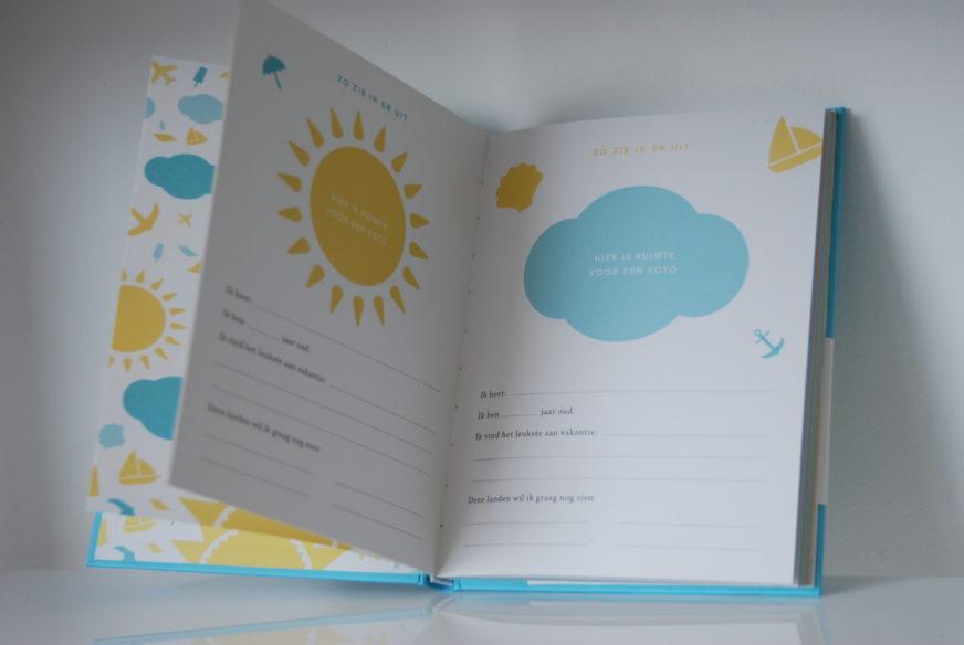 Elma van Vliet familie vakantiedagboek