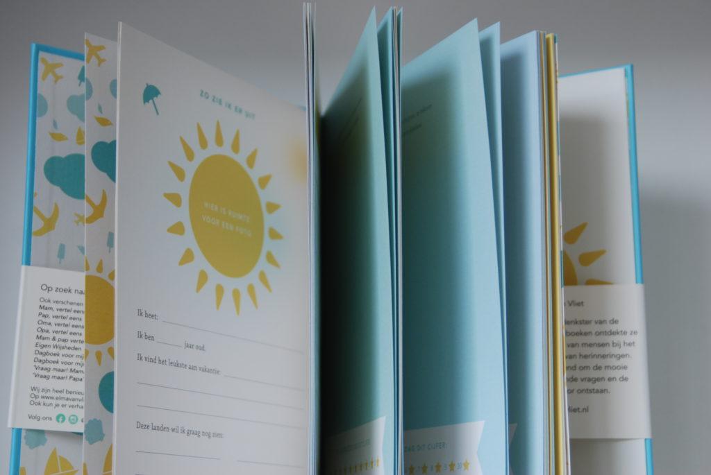 Elma van Vliet vakantiedagboek
