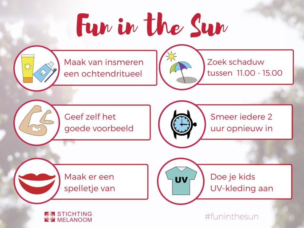 Fun in the sun insmeertips