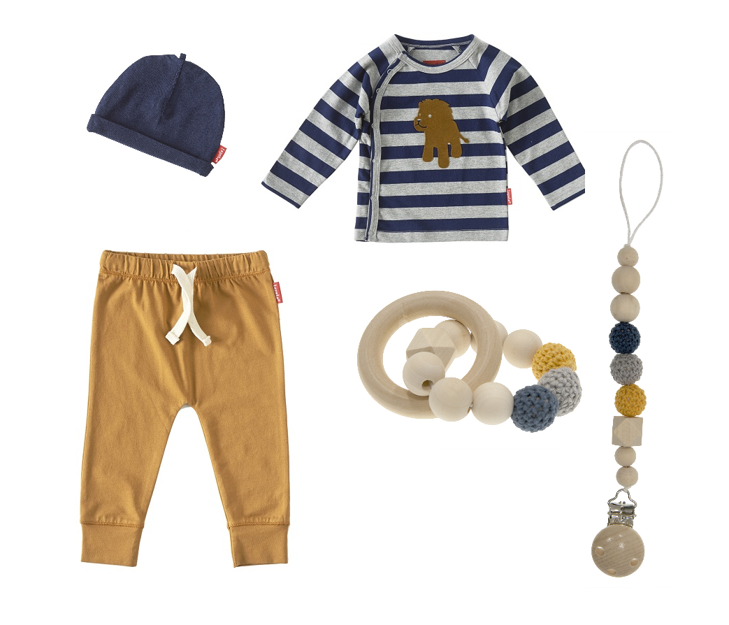 Kabouter kinderkleding outfit baby jongen