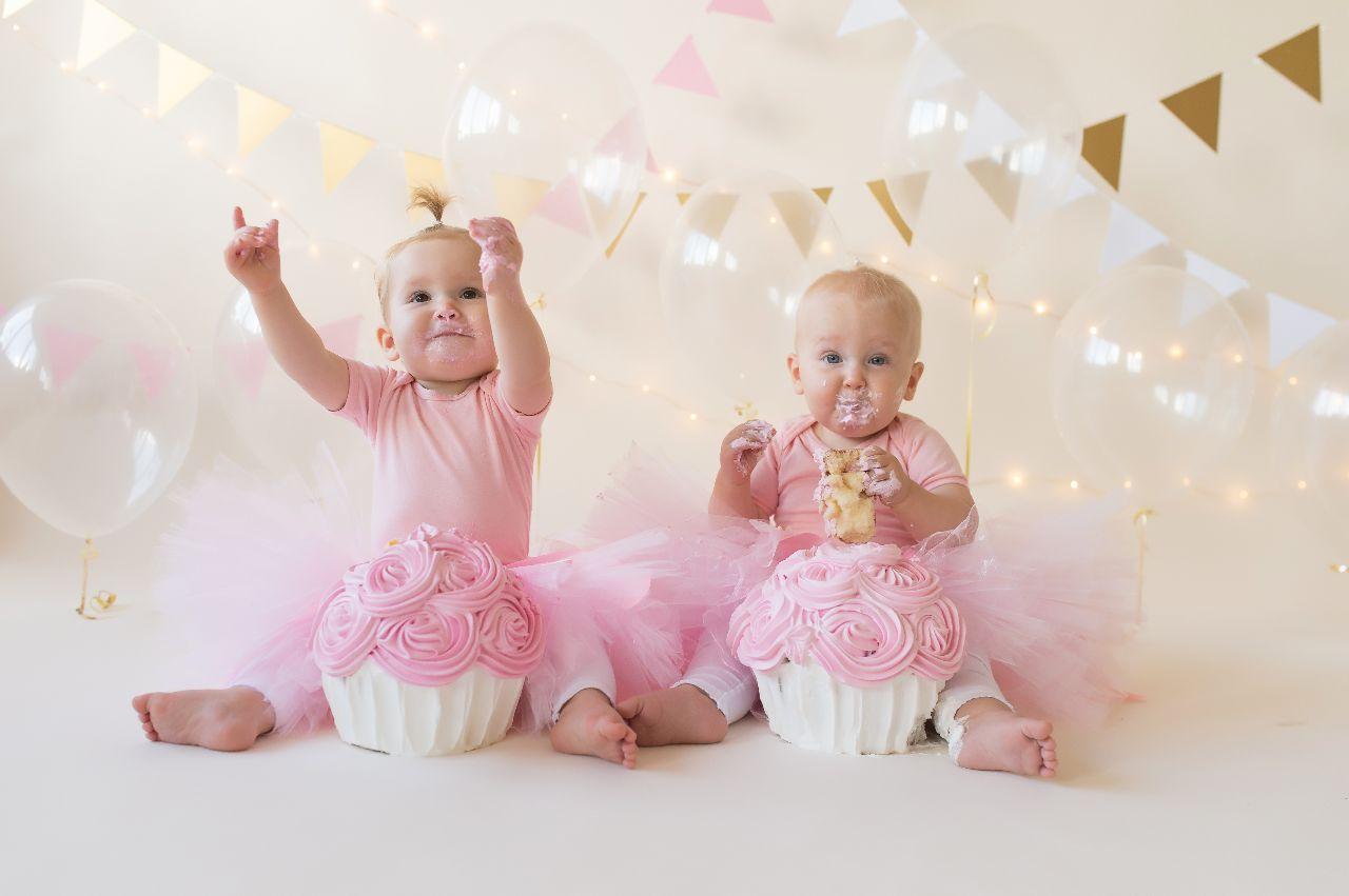 Cakesmahs tweeling wordt 1 jaar