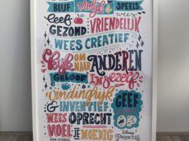 disney inspired poster