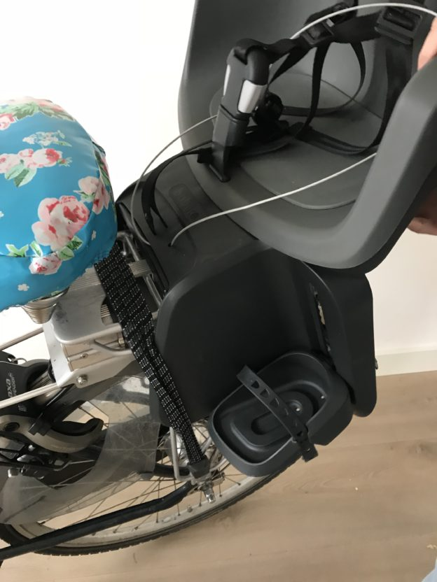 achterzitje elektrische fiets bobike