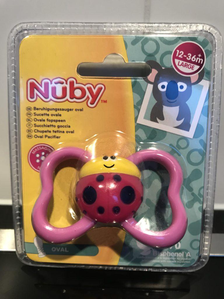 nuby fopseen