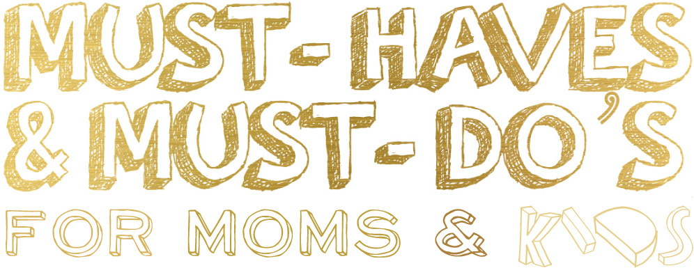 Mama's mind logo Must-do's en Must-haves