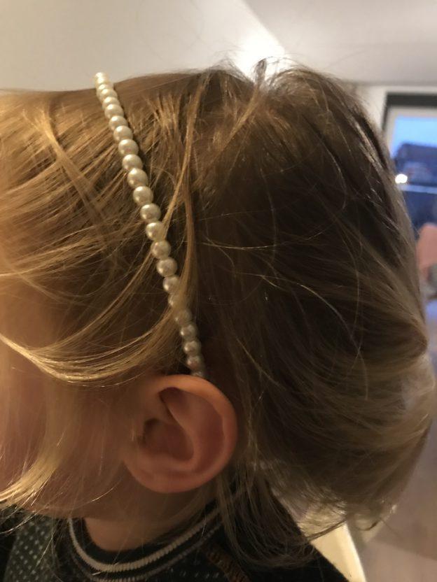 zenner haarband parels