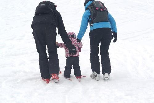gastblog kim wintersport met peuter
