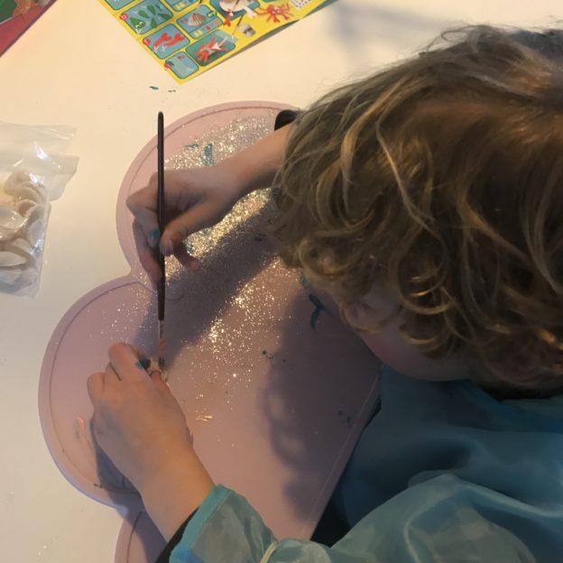 schelpen schilderen ses