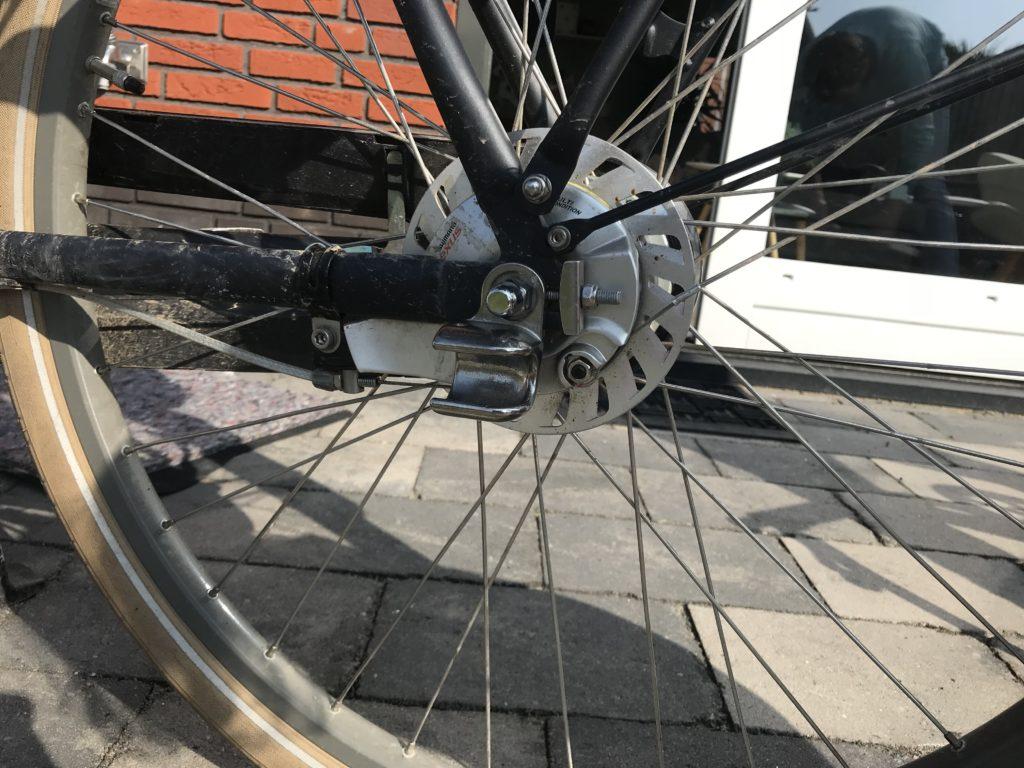 Thule fietskar bevestigings cup