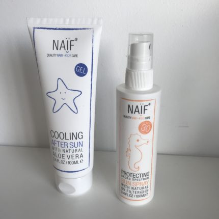 naif zonnebrand spray