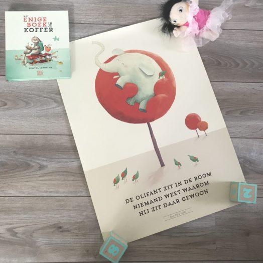 Poster olifant pip en maki