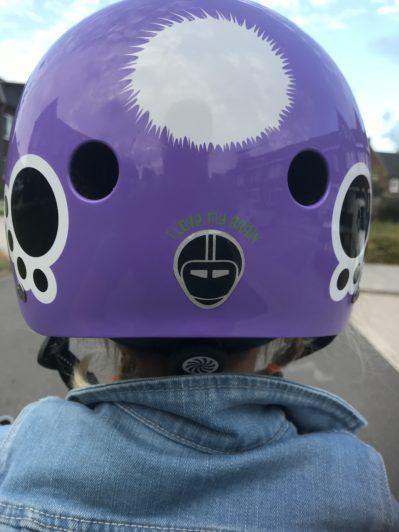 nutcase love my brain helmet