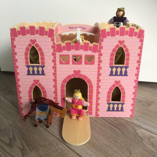 droomkastel houten prinssenkasteel