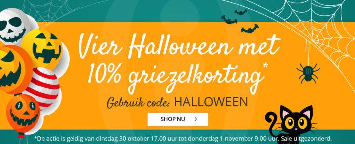 Halloween kortingscode shoesme